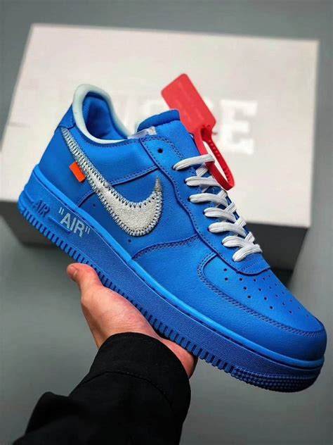 """Fake Off-White x Nike Air Force 1 Low """"MCA"""", Best Replica"""