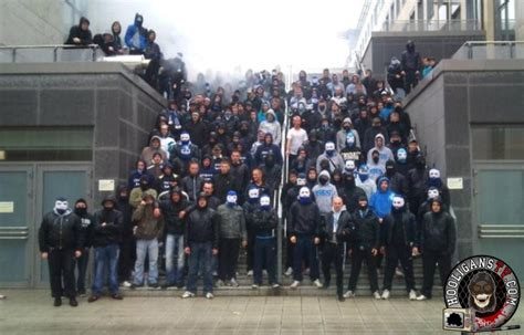Photo gallery of hooligan groups and clubs from Germany