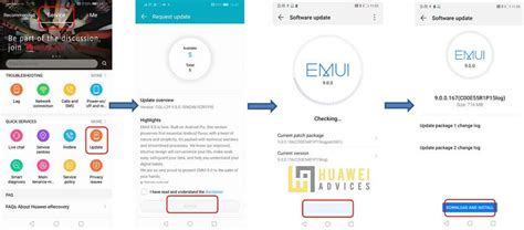 Hicare update Huawei phones   Huawei Advices