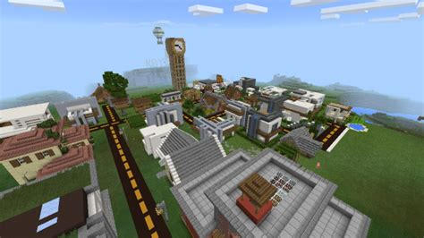Modern City map for Minecraft 1