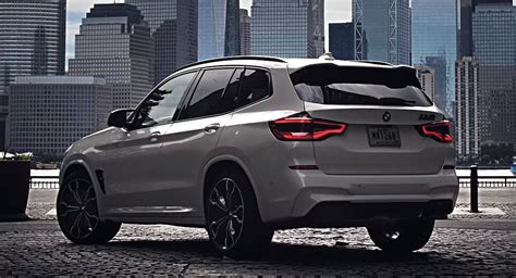 Watch 473 HP BMW X3 M Competition Take To The Big Apple