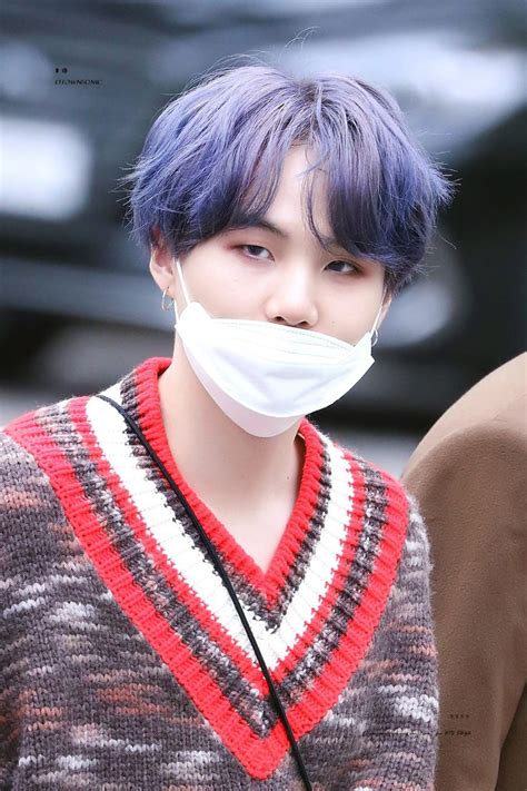 Min Yoongi ☆ Broadcast ☆ BTS 190419 at KBS for Music Bank