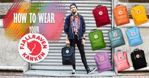 This is how you should wear your Kanken! – Vintage