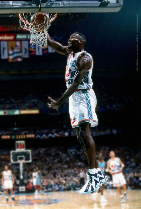 Flashback // Shawn Kemp in the 1996 All Star Game Wearing