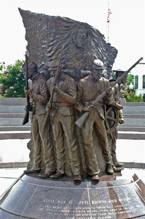 African American Civil War Memorial | By supporting the
