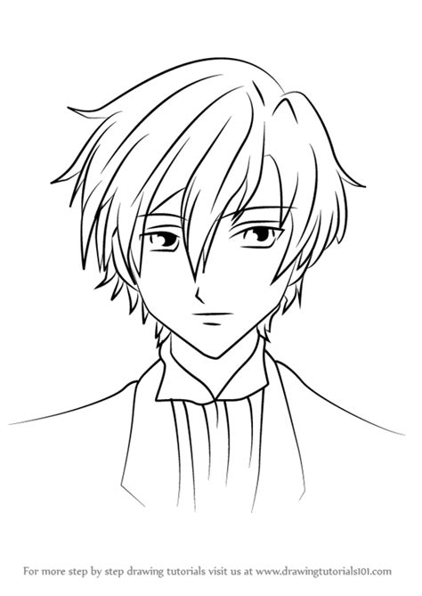 Learn How to Draw Tamaki Suoh from Ouran High School Host