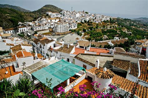 Overview of Frigiliana, Spain   Overview of the