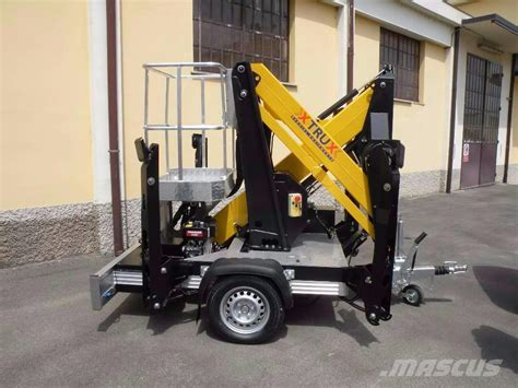 Used Comet X Trailer trailer mounted aerial platforms Year