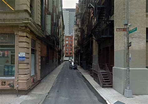 On the set of New York - Crocodile Dundee Film Locations