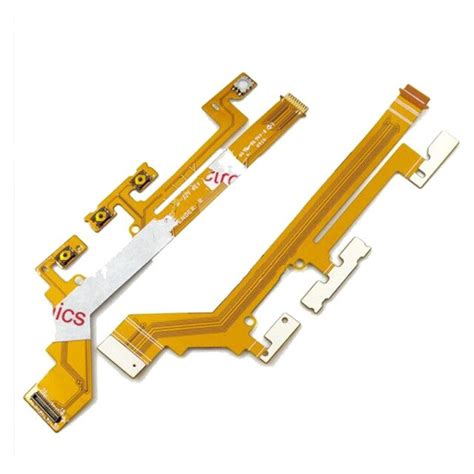 Power ON/OFF Switch button Flex Cable For Sony xperia M2