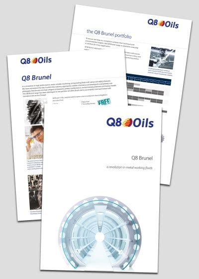 Q8Oils Launches Q8 Brunel - A Revolution in Water Soluble