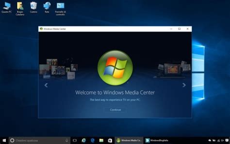 Trick: how to bring Windows Media Center back in your