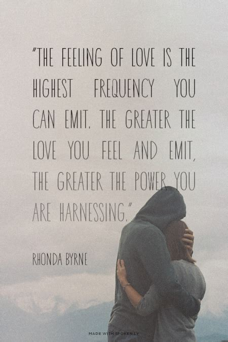 The Power Rhonda Byrne Quotes