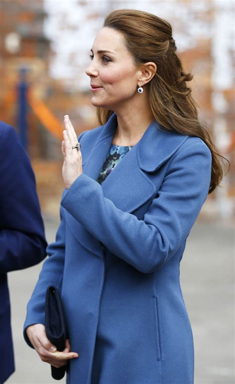 Duchess Kate Middleton shows off maternal side during