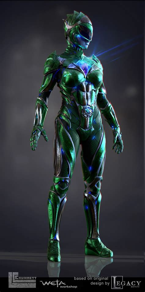 New awesome images from Weta reveals the Green Ranger from
