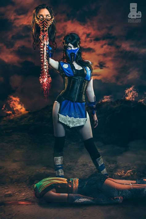 Epic Female Mortal Kombat Cosplay   JPEGY - What the