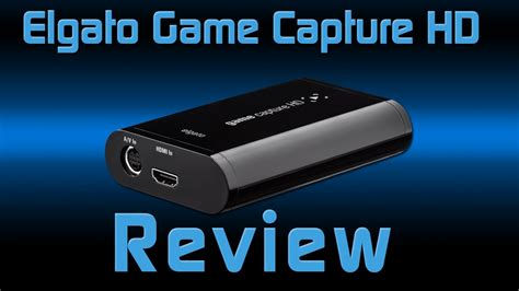Elgato Game Capture HD Capture Card Review - YouTube