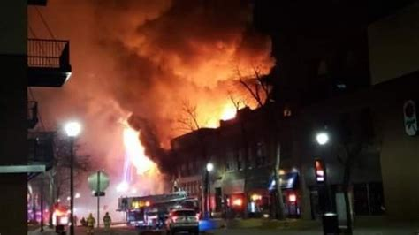 Fire chief: Demolition required to completely extinguish