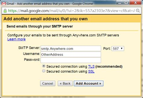 Letting other people send email from your Google account
