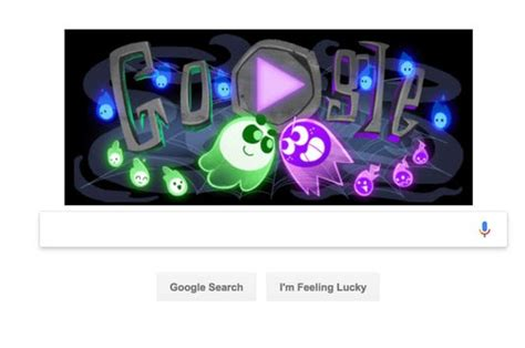 Google Halloween game: Doodle launches multiplayer 'Great