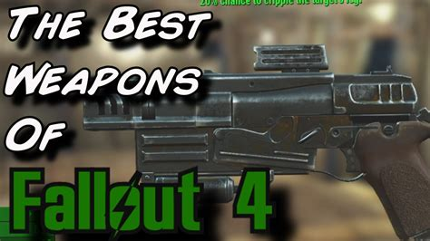 Fallout 4 | The Best Legendary Weapons (Survival) - YouTube
