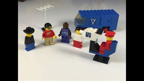 LEGO TV Crew Set 664 from 1977 Classic 1970s Television