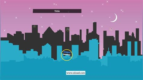 Prezi template with city background - YouTube