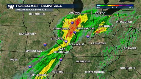 A Soggy & Flooded Monday for St