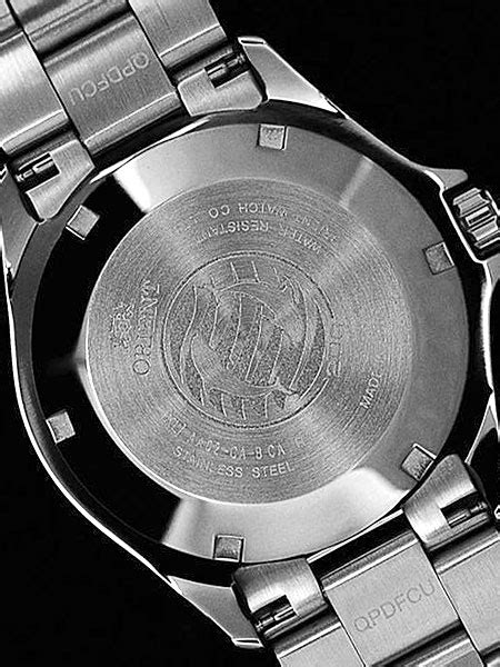 Orient Mako USA II White Dial Automatic Dive Watch with