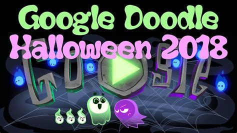 Google releases Halloween themed Doodle game