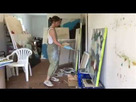 Felicity O'Connor - An Artist at Work - Timelapse - YouTube
