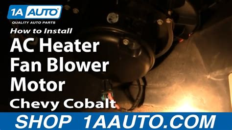 How To Install Replace AC Heater Fan Blower Motor Chevy