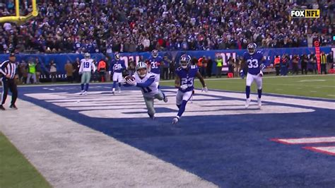 Beasley Lays Out For Sensational TD Catch