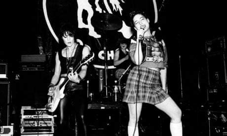 Riot grrrl: searching for music's young female