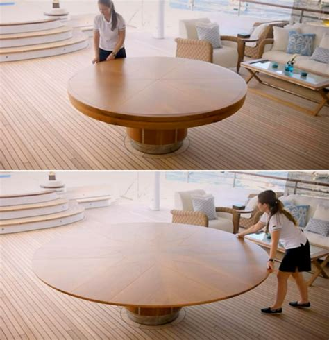 It's Like Magic: Beautifully Expanding Wooden Table
