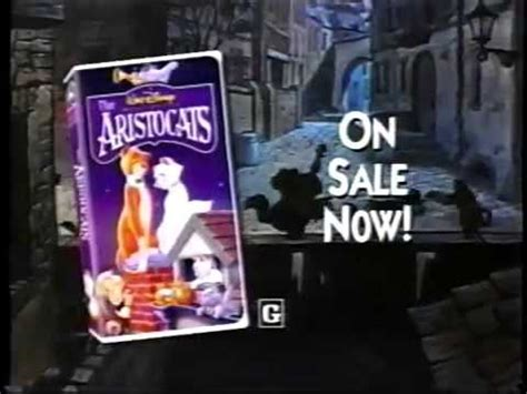 Disney The Aristocats VHS Commercial - YouTube