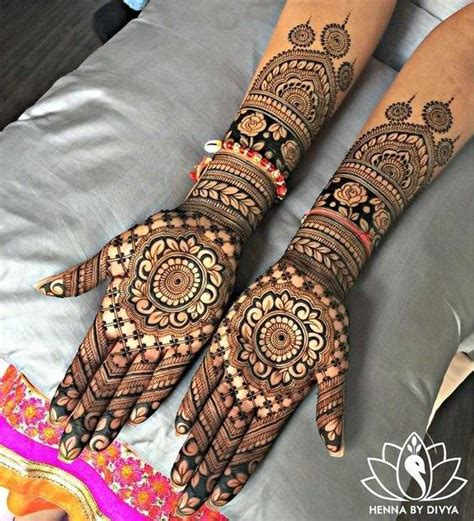 20+ Full Hand Mehndi Designs For Your Wedding Day  The