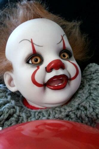 Reborn Baby~PennyWise IT Clown   Real looking baby dolls